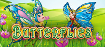 Friendly butterflies and caterpillars live together in the harmony of a magic garden. The WILD Cocoon on Reel 1 releases a Butterfly that may turn any Symbols into additional WILDS!